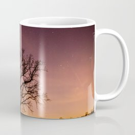 Oak Family in Field Coffee Mug