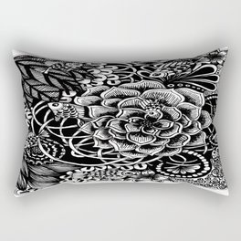 Zentangle Fishes! Fishes! Fishes! Rectangular Pillow