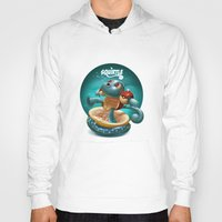 squirtle Hoodies featuring Squirtle by Danilo Fiocco