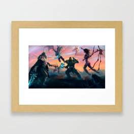 Heroes of the Storm Framed Art Print