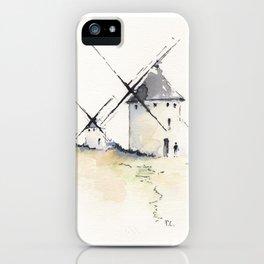 Spanish Windmills iPhone Case