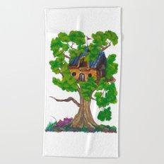 Treehouse III Beach Towel