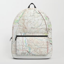 MT Hardin 268420 1981 topographic map Backpack