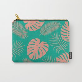 TROPICAL LEAVES 8 Carry-All Pouch