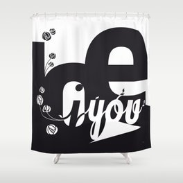 I Love You 3 Shower Curtain