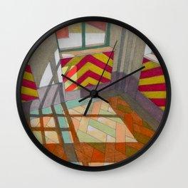 Abandoned room III Wall Clock