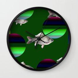 fish miracle Wall Clock