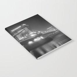Chain Bridge Budapest Notebook