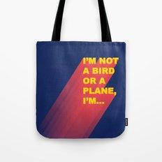Super Man Tote Bag