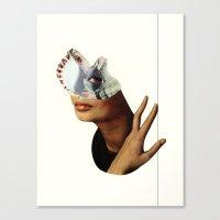 ursula Canvas Prints featuring Ursula by David Delruelle