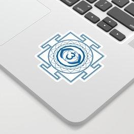 Sri Yantra Third Eye Sticker