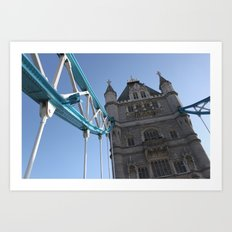 Tower Bridge, London (2012) Art Print