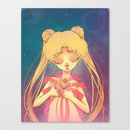 Moon Crisis Power, Make-up! Canvas Print