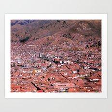 Viva el Peru Art Print