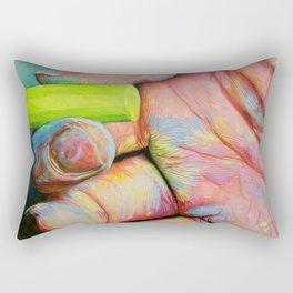 Create, Inspire, Captivate Rectangular Pillow