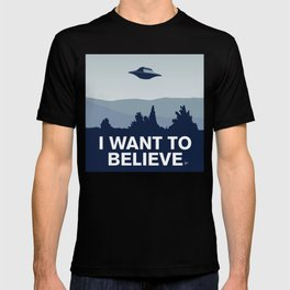 My X-files: I want to believe poster T-shirt
