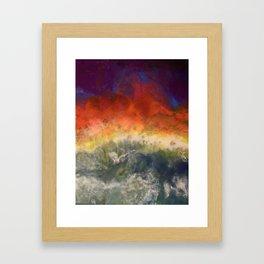 """Storm"" by Laurie Ann Hunter Framed Art Print"