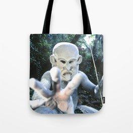 Papua New Guinea Ghost Tote Bag