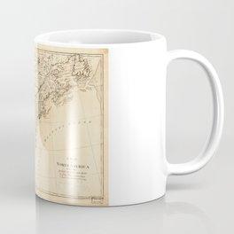 Map of North America (1768) Coffee Mug