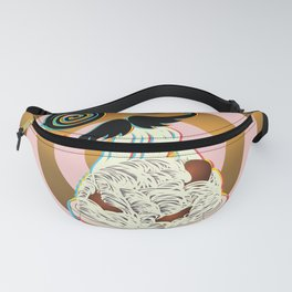Mad ramen eater Fanny Pack