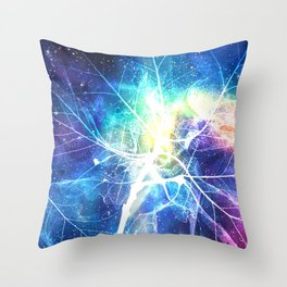 Stardust Energy Throw Pillow