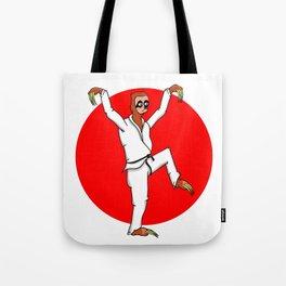 Sloth Karate Tote Bag