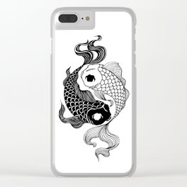 Yin Yang Tents Clear iPhone Case
