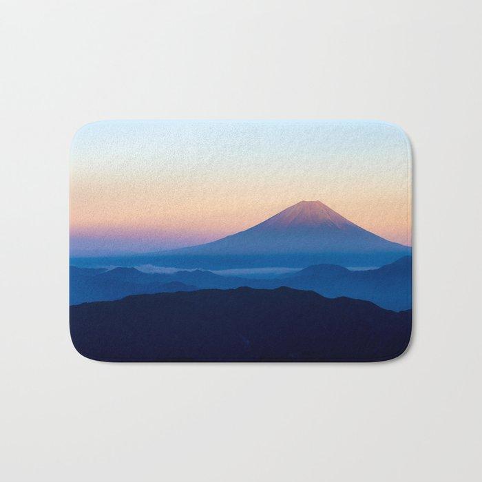 Mount Fuji Bath Mat