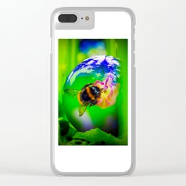 Mysterious World Clear iPhone Case