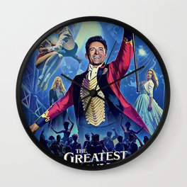 The Greatest Showman Poster Wall Clock