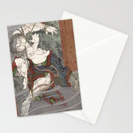 Water by Totoya Hokkei Stationery Cards