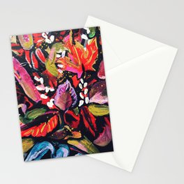 Fall Time Bouquet II Stationery Cards