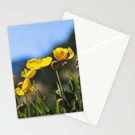Bush Poppies Stationery Cards