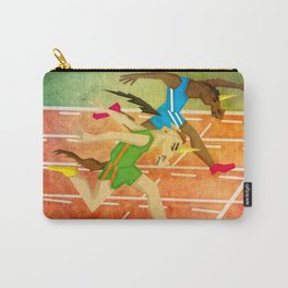 Photo Finish Unicorn Race Carry-All Pouch
