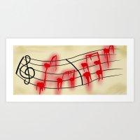 Music is My Soul Art Print