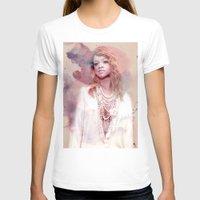 rihanna T-shirts featuring Rihanna by Kanelko