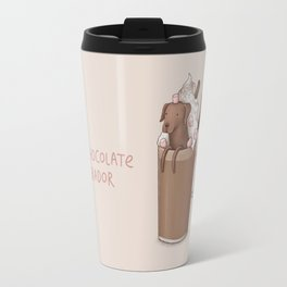Hot Chocolate Labrador Travel Mug