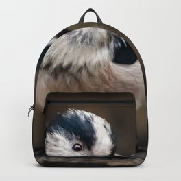 Fluffy The Long-Tailed Tit Backpack