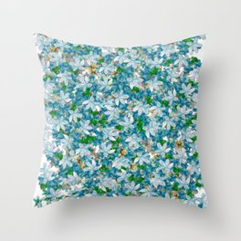 Florals for All, Spring Throw Pillow