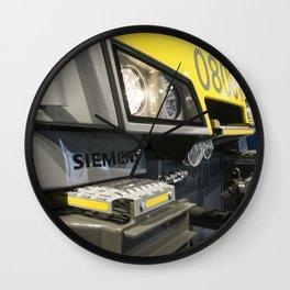 Electric Profile Wall Clock