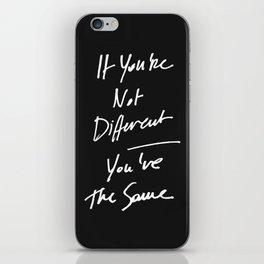 The Same iPhone Skin