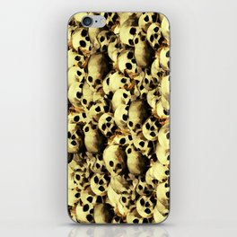 SKULL PILE 015 UP iPhone Skin