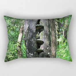 Tree Steps Rectangular Pillow