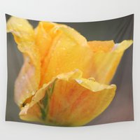 tulip Wall Tapestries featuring Tulip by Stecker Photographie