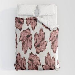 bubblegum crystal cluster Comforters