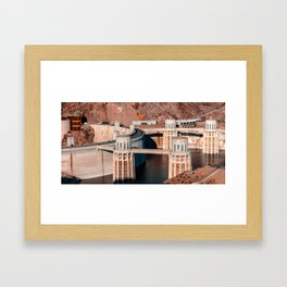 Hoover Dam Framed Art Print