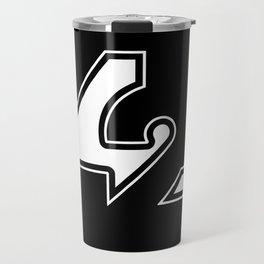 42 - Black Travel Mug