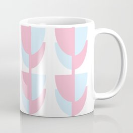 Tulips In Amsterdam - Pink and Blue Coffee Mug
