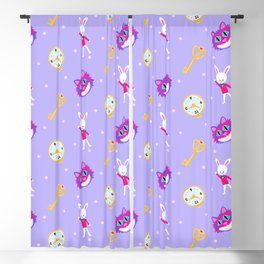 Alice in Wonderland - Out of Time Blackout Curtain