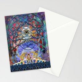 Space Shiva Stationery Cards
